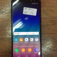 Samsung A8 black second garansi sein super mulus sebulan pake