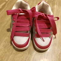 Sepatu sneaker roda Heelys pink anak authentic kondisi bagus