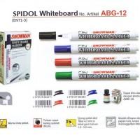Spidol Whiteboard Snowman ABG