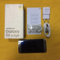 Samsung Galaxy S6 Edge 64Gb Gold Lengkap