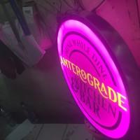 Neon box dia meter 1,5 m