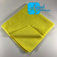 Microfiber cleaning cloth yelow