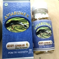 HIGH QUALITY - IZIN BPOM RESMI - Kapsul Ikan Gabus (Minyak) isi 100