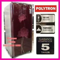 Kulkas polytron belleza PRO 17BN 1 pintu