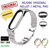 Mi band 3 Mijobs Replacement Band Stainless steel Millet Pro Limited