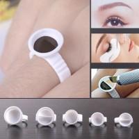 Cincin Bulu Mata Tanam Ring Glue eyelashes extension Ring Sulam alis