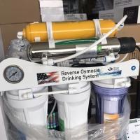 RO 100 GPD 8 Stage + KDF + UV Mesin air minum RO