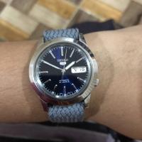 Jual Jam tangan Seiko 5 automatic 7s26 biru langka - second Murah