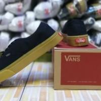 Sepatu vans otentik untuk pria/hitam/navy/abu/merah