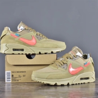 Nike Airmax 90 x OFFWHITE Desert Ore (UNAUTHORIZED AUTHENTIC)