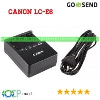 Charger Canon LC-E6 LC-E6E for LP-E6 60d 70d 80d 7d 5d