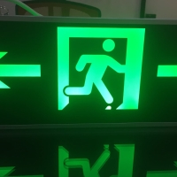 Exit sign emergency 2 posisi