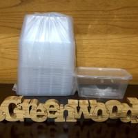 Thinwall 1500 ML / Kotak Plastik 1500 ML - 25 Pcs