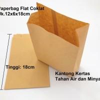 Kantong kertas paperbag waterproof greaseproof foodgrade M