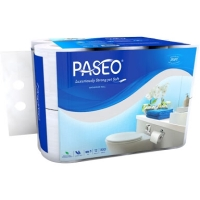 tissue toilet paseo 3ply 12roll 300sheets (isi12roll)