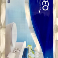 tissue toilet paseo 3ply 8roll 300sheets (isi8roll)