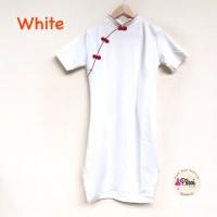 Dress Chongsam / gaun Congsam / dress imlek / cheongsam merah / qipao