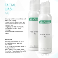 dr Faccia Facial Wash AX - Sabun Kulit Berjerawat (02 001 003)