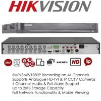 DVR HIKVISION DS-7216HUHI-K2 + Sirene