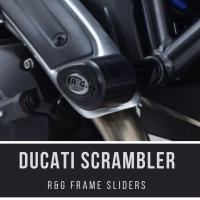 R&G Frame sliders Ducati Scrambler