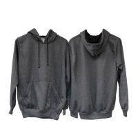 Jaket Sweater Polos Hoodie Jumper Abu Tua - Premium Quality