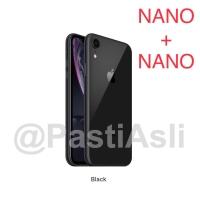 iPhone XR 128GB BLACK Dual SIM Garansi Apple 128 GB Nano 3d020cc184