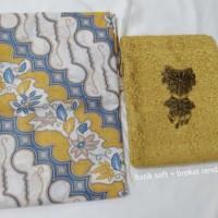 Motif Batik dan Brokat Kebaya/Dress