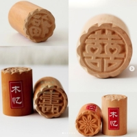 Stamp bakpao L / stempel bakpao ukuran L 3.5cm / stempel kayu pao