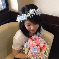Mahkota Bunga Flower Crown Premium Murah