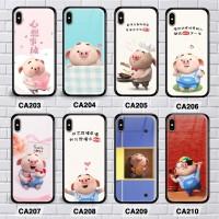 Custom case motif pig vivo v9, v11, v11 pro, v15, v15 pro premium case