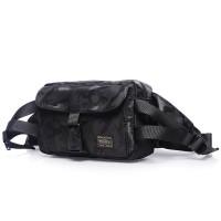 porter tokyo japan hip bag waistbag sling bag army black