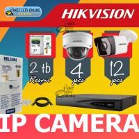 Paket IP Camera Hikvision 16ch Termurah dan Dipandu