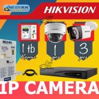 Paket IP Camera Hikvision instalasi dipandu