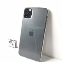 IPHONE 11 PRO MAX 11PROMAX CLEAR CASE ULTRATHIN SILICON HIGH QUALITY