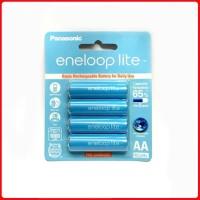 Baterai/ Batre Rechargeable Panasonic Eneloop lite AA/ A2 1000mah BP4