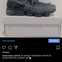 Nike Vapormax Flyknit Grey