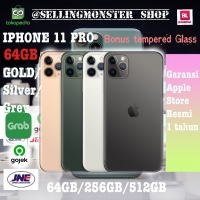 Iphone 11 Pro Gold Silver Grey - 64GB Ori 100% apple garansi