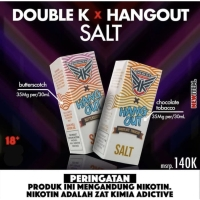 Double K x Hang Out - Salt Nic - Butterscotch x Chocolate Tobacco