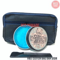 STARTLEY BREWING POMADE STRONG HOLD WATERBASED FREE CLUTCH BAG 100g