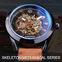 Jam Tangan Pria Forsining Mechanical Skeleton Automatic Sporty Luxury