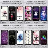 Case vivo v11 pro y91 y93 y95 v15 v15 pro chanel pig custom glass case