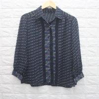 07 H&M blouse sifon wanita tidak transparan / kemeja chiffon fashion