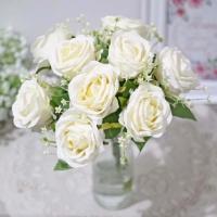 Bunga Plastik Mawar - Dekorasi