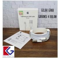 GARANSI ORIGINAL USB KABEL DATA IPHONE LIGHTNING 2 METER X 7 8 PLUS 10