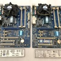PAKETAN INTEL QUADCORE Q9300 2.50ghz MOBO X-BLUE P43 DDR3 OFFBOARD-FAN