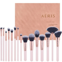 Aeris 15 Face & Eye Brush Set