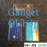 Plastik id card plastik nametag bening - emoney - brizzi - mika pvc