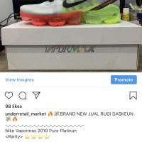 Nike Vapormax 2019 Pure Platinum