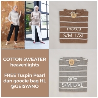 Cotton Sweater HL Heaven Lights