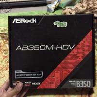 Motherboard Asrock AB350m - HDV untuk Ryzen